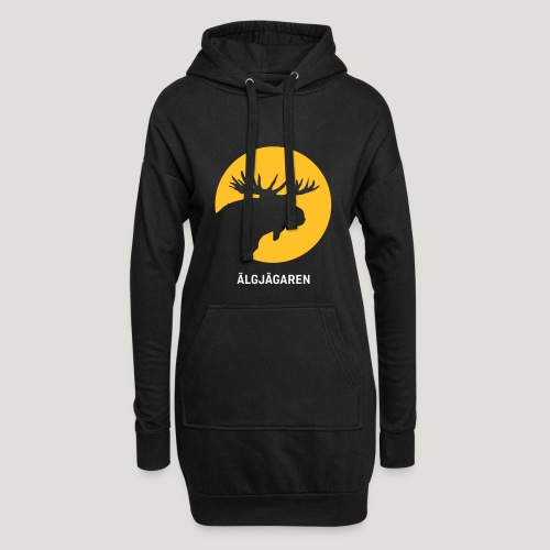 Älgjägaren - moose hunter (swedish version) - Hoodie-Kleid