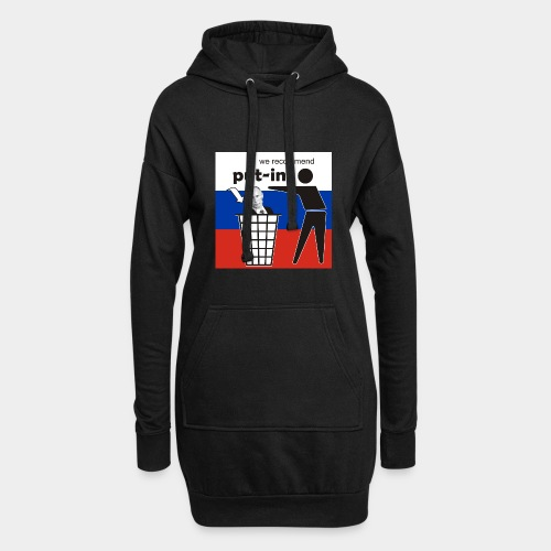 GHB Put in for recycling 190320181 - Hoodie-Kleid