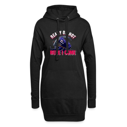 Grim Seeker Ready Or Not Here I Come - Hoodie-Kleid
