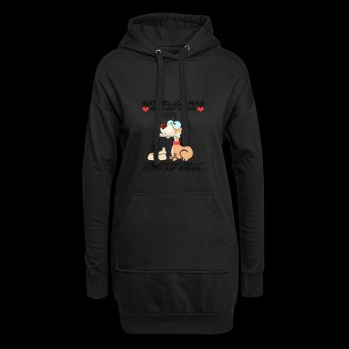 Dog - Hoodie-Kleid