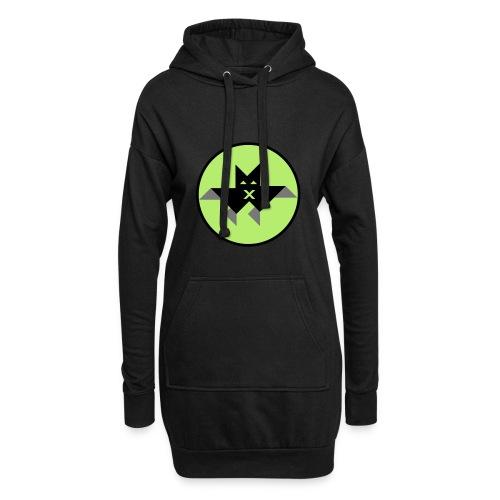 Vampir green - Hoodie-Kleid