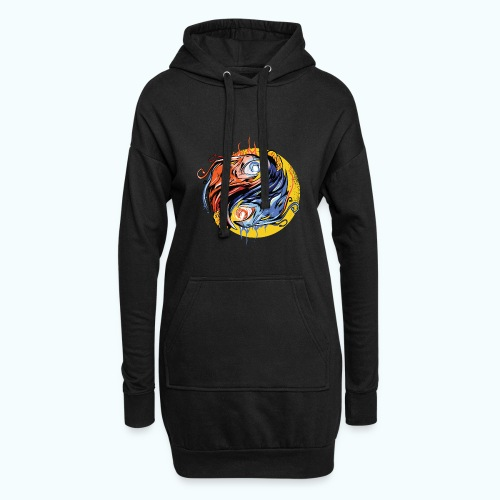Japan Phoenix - Hoodie Dress