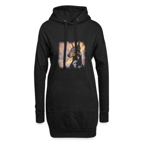 Dobermann - Hoodie-Kleid