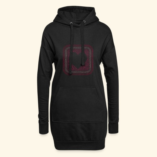 You are my everything with love - Hoodie Dress
