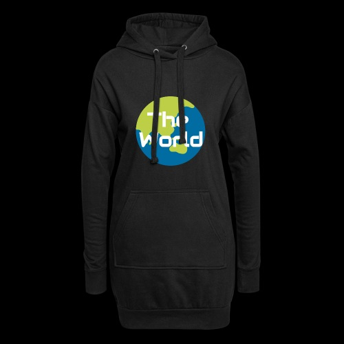 The World Earth - Hoodie-kjole