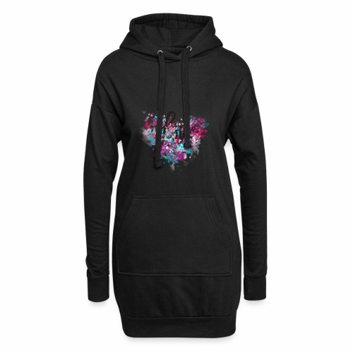 Love with Heart - Hoodie Dress