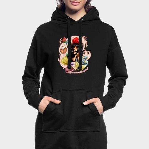Geneworld - Kiki - Sweat-shirt à capuche long Femme