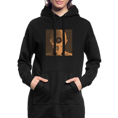 Free-Mind ShriYantra gold - Hoodie-Kleid