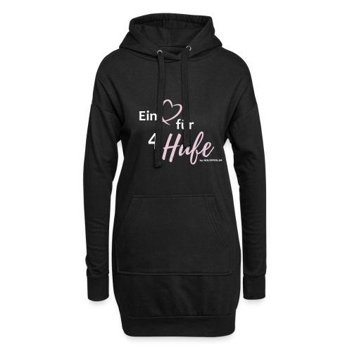 Ein Herz für 4 Hufe_Pfad - Hoodie-Kleid