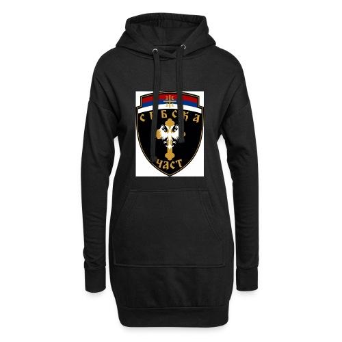 serbisk trøje - Hoodie-kjole