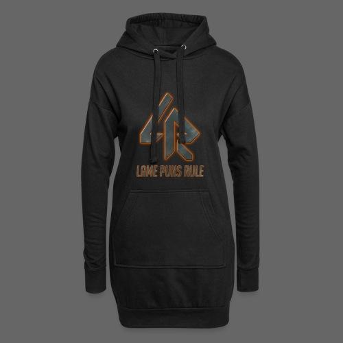 Lame Puns Rule: Logo - Hoodie Dress