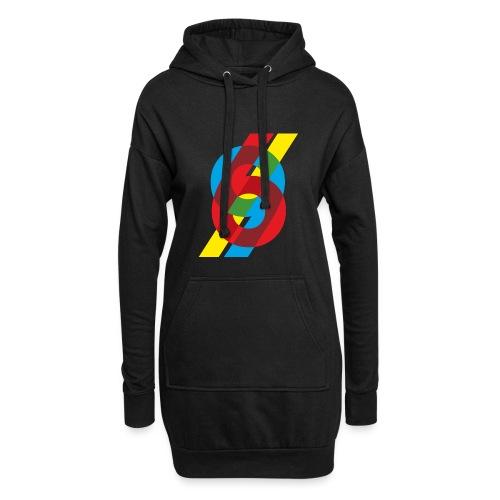 colorful numbers - Hoodie Dress