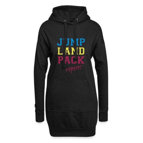 jump land pack repeat - Hoodie Dress
