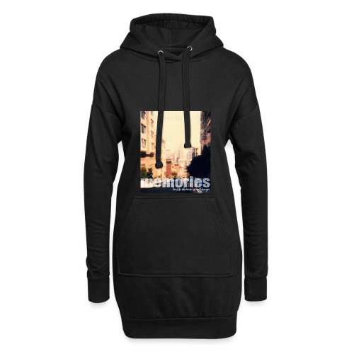 MEMORIES of SAN FRANCISCO - Hoodie-Kleid