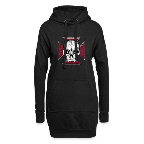 20-07 Iron Cross Skull, pääkallo tekstiilit ym. - Hupparimekko