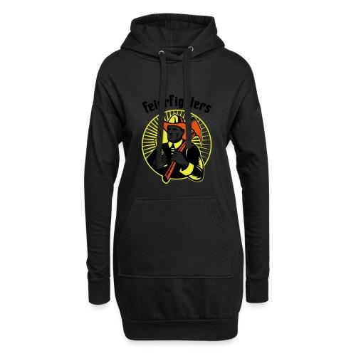 feierfighters - Hoodie-Kleid