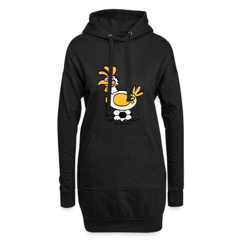 Laying Football Balls - Hoodie Dress