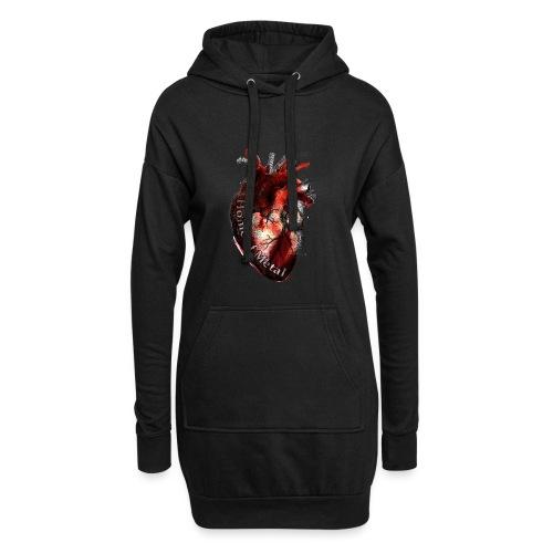 Heart of metal - Vestitino con cappuccio