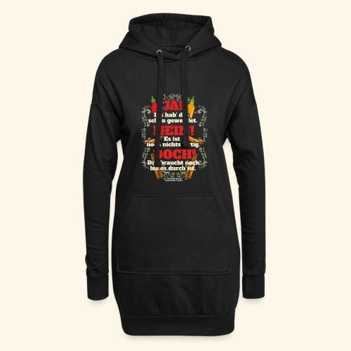 Grill T Shirt | witziger Spruch | Geschenkidee - Hoodie-Kleid