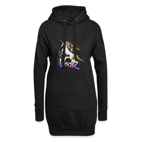 VodK licorne png - Sweat-shirt à capuche long Femme