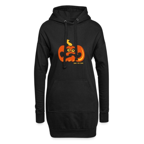 Scared Pumpkin - Hoodie Dress
