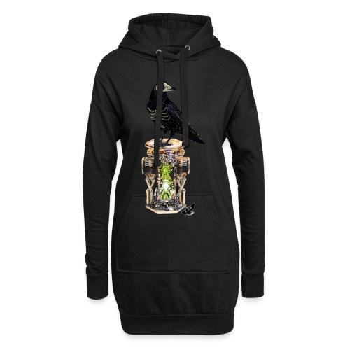 'Memento Mori' by BlackenedMoonArts - Hoodie-kjole