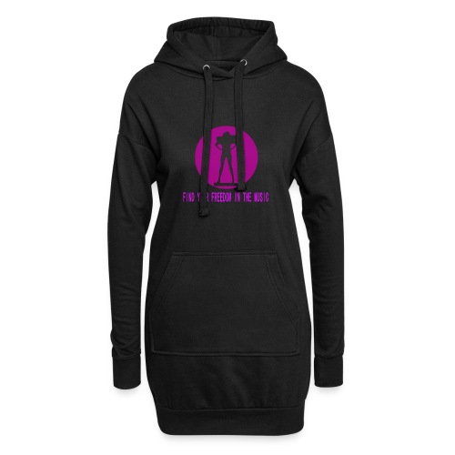 DANCE IN THE DARK unisex - Sudadera vestido con capucha