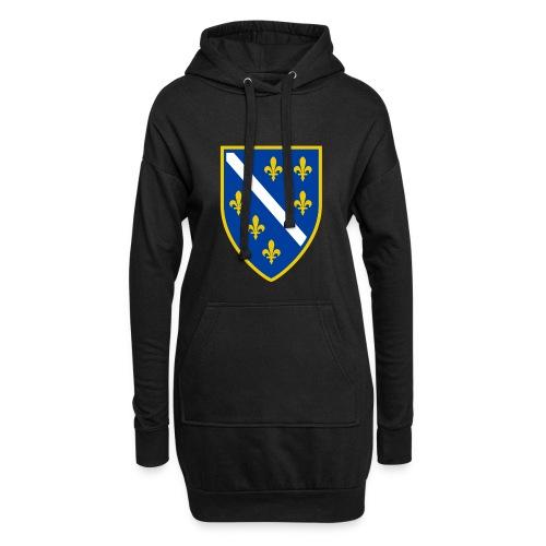 Alt bosnisches Wappen - Hoodie-Kleid