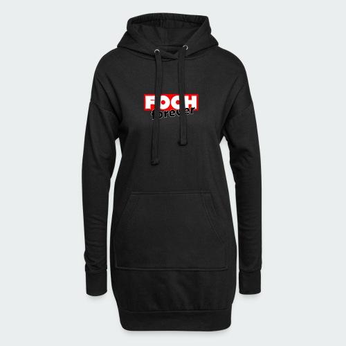 Damska Koszulka Premium FOCH - Długa bluza z kapturem