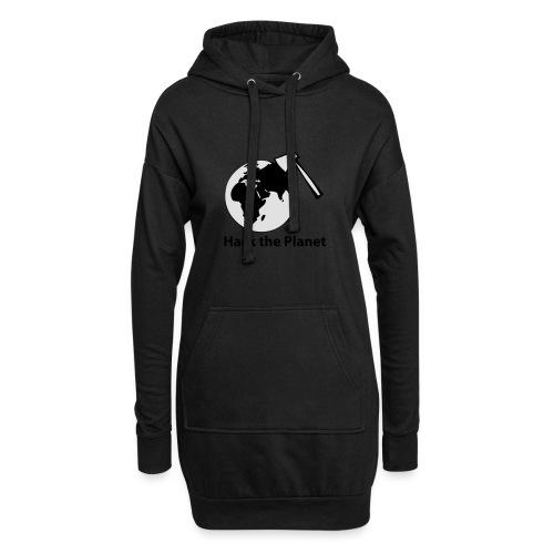 hack_the_planet_sw - Hoodie-Kleid