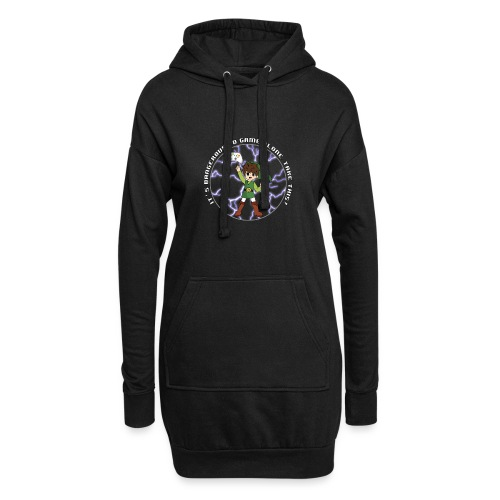Dangerous To Game Alone - Hoodie Dress