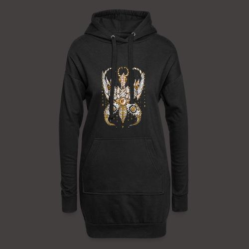 Papillon Lilou Dore - Sweat-shirt à capuche long Femme