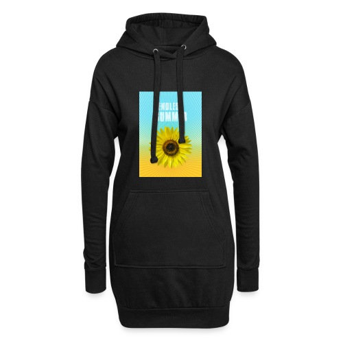 sunflower endless summer Sonnenblume Sommer - Hoodie Dress