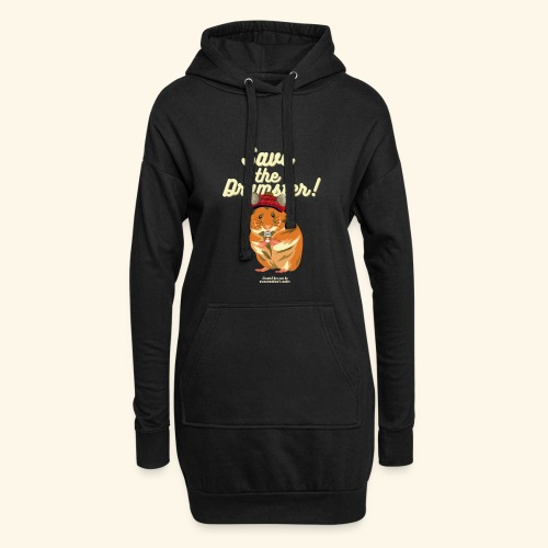Whisky T Shirt Save the Dramster! - Hoodie-Kleid