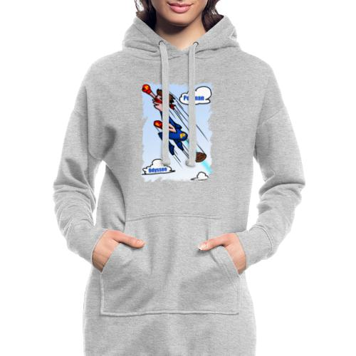 Superhero Pooman - Hoodie Dress