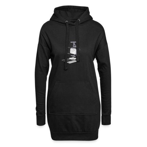 VivoDigitale t-shirt - Blackmagic - Vestitino con cappuccio
