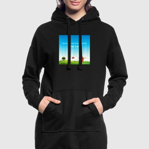 Rolling hills tshirt - Hoodie-kjole