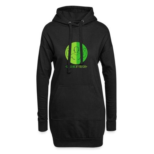 Muscle Vert - Sweat-shirt à capuche long Femme