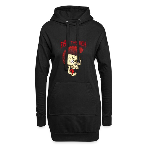 Eat The Rich (For Dark Shirts) - Hoodie-Kleid