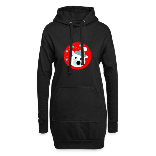 Winter bear - Hoodie Dress
