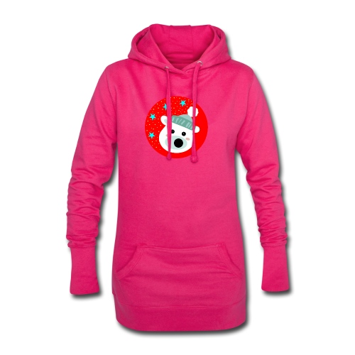 Winter bear - Hoodie Dress