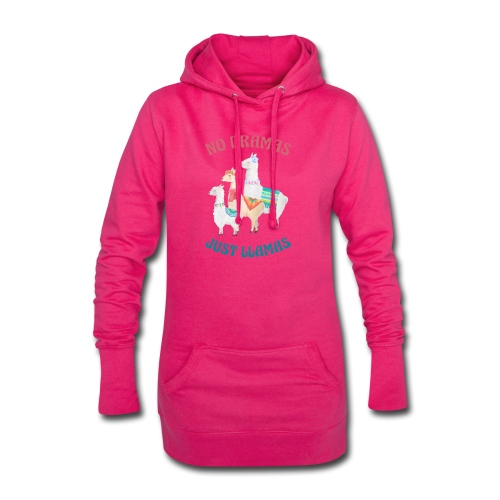 No Dramas Just Llamas - Hoodie Dress