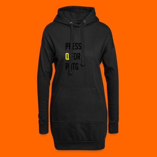 Press Q for play of the game - Hoodie Dress