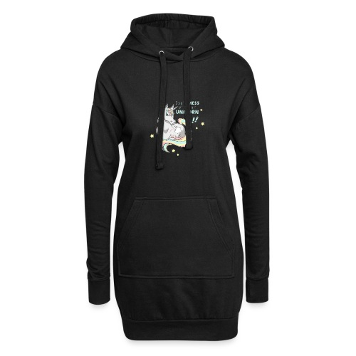 Don't MESS with an UNICORN! - Hoodie-Kleid