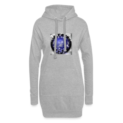 Hyperspace potato Blue Orb - Hoodie Dress