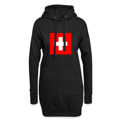 Flag_of_Switzerland - Hoodie-Kleid