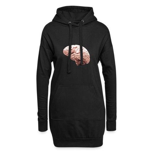 Brain - Sweat-shirt à capuche long Femme