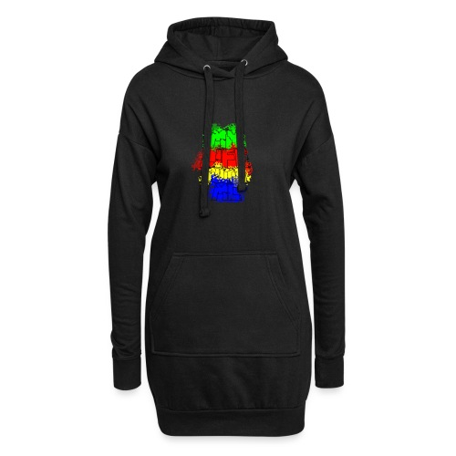 Den Officielle My Life With Minecraft Logo - Hoodie-kjole