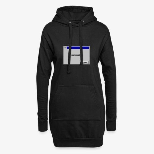 Unbenannt 1 - Hoodie-Kleid