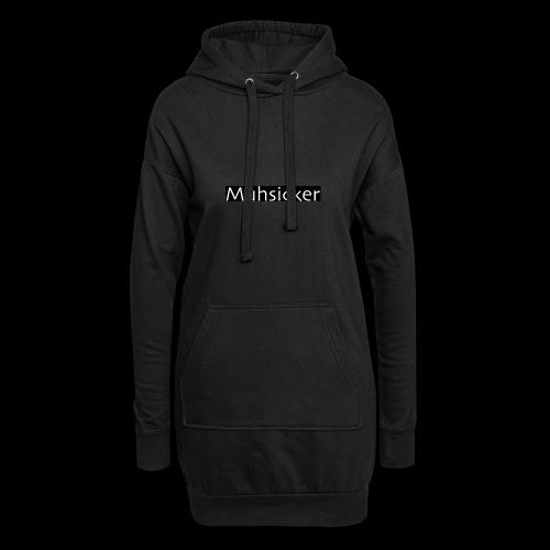 Muhsicker - Hoodie-Kleid
